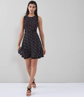 Reiss Monti Ditsy Printed Day Dress