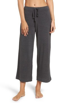 Barefoot Dreams Women's Cozychic Ultra Lite Culotte Lounge Pants