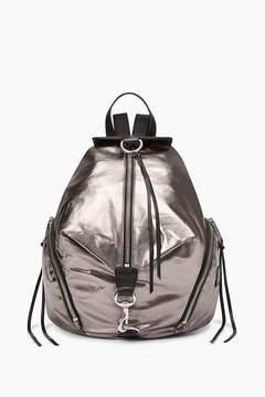 Rebecca Minkoff Julian Nylon Backpack - SILVER - STYLE