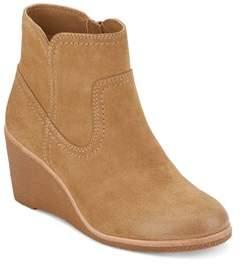 G.H. Bass & Co & Co. Womens Rosanne Dress Wedge Heel Boot.