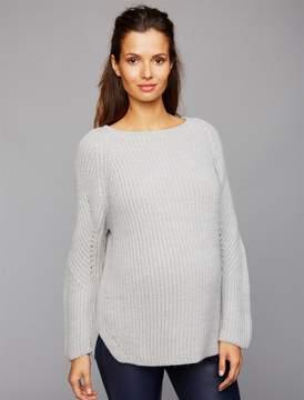 Pietro Brunelli Pea Collection Rib Knit Maternity Sweater