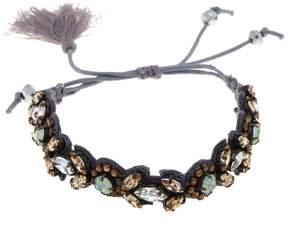 Deepa Gurnani deepa by Kenzie Beaded Adjustable Slide Bracelet