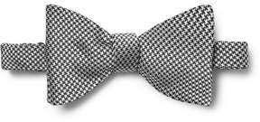 Turnbull & Asser Puppytooth Silk-Jacquard Bow Tie