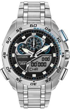 Citizen Promaster Super Sport JW0110-58E Silver/Black Eco-Drive Men's Watch