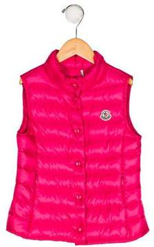 Moncler Girls' Liane Down Vest