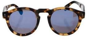 Illesteva Tortoiseshell Leonard Sunglasses