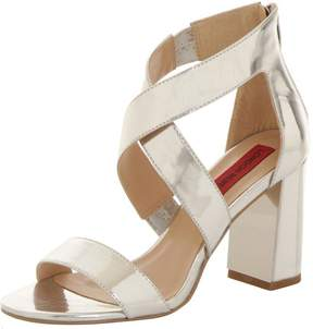 London Rebel *London Rebel Metallic block heel sandals