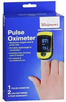 Walgreens Pulse Fingertip Oximeter C20 - Measures Oxygen Level & Pulse Rate