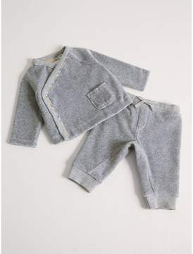 Burberry Stretch Jersey Two-piece Baby Gift Set