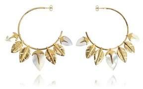 Aurelie Bidermann Women's Gold Metal Earrings.