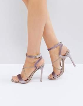 Faith Dana Strap Heeled Sandals
