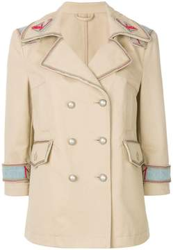 Ermanno Scervino double-breasted button jacket