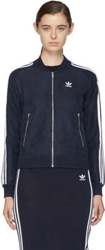 adidas Navy Superstar Track Jacket