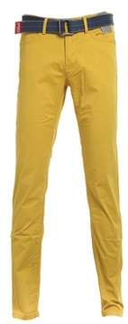 Jaggy Men's Yellow Cotton Pants.