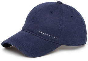 Perry Ellis Jersey Linen Baseball Cap