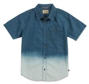 Lucky Brand Boy's Ombre Denim Button-Down Shirt