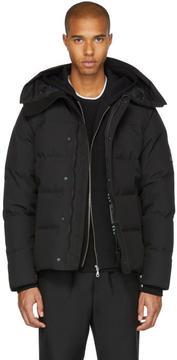 Kenzo Black Down Coat
