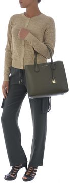 Michael Kors Lockpad Tag Tote - VERDE SCURO - STYLE
