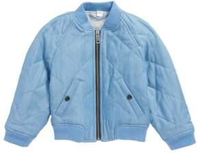 Burberry Blossom Quilted Chambray Jacket