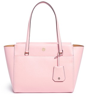 Tory Burch 'Parker' small leather tote - ONE COLOR - STYLE