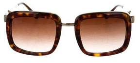 Stella McCartney Tortoiseshell Gradient Sunglasses