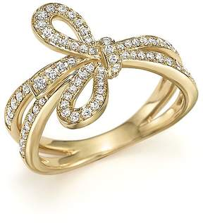 Bloomingdale's Diamond Bow Ring in 14K Yellow Gold, .45 ct. t.w. - 100% Exclusive