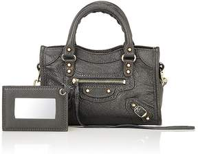 Balenciaga Women's Arena Leather Classic Nano City Bag