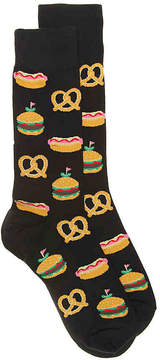 Hot Sox Men's Street Food Dress Socks