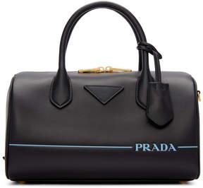 Prada Black Mirage Duffle Bag
