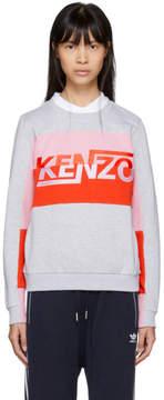 Kenzo Grey Logo Comfort Sweatshirt