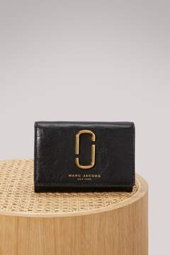 Marc Jacobs Leather wallet - BLACK - STYLE