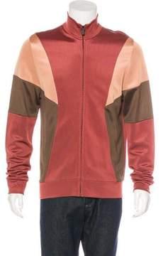 Bottega Veneta Colorblock Track Jacket