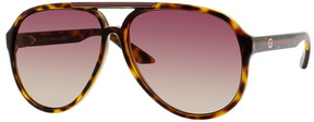 Safilo USA Gucci 1627 Aviator Sunglasses