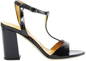 Atelier Mercadal Patent Leather Sandals