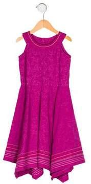Catimini Girls' Printed A-Line Dress