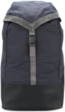 Eastpak suede trim backpack