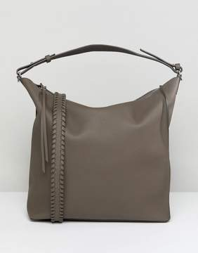 AllSaints Slouchy Leather Tote Bag