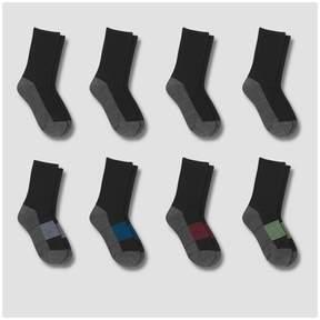 Hanes Boys' Premium Athletic Socks - Black