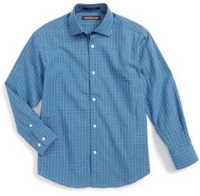 Boy's Michael Kors Check Dress Shirt