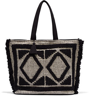 Eva Mendes Collection - Fringe Tote Bag