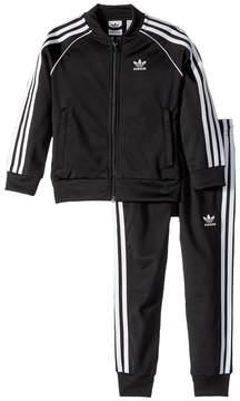 adidas Kids Superstar 3-Stripes Tracksuit Kid's Active Sets