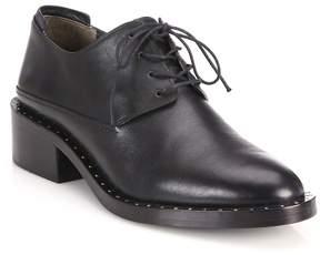 3.1 Phillip Lim Women's Alexa Leather Block-Heel Oxfords