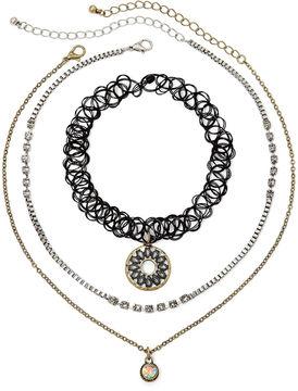 Carole 3-pc. Jelly Choker and Necklace Set