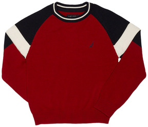 Nautica Boys' Colorblocked Sweater