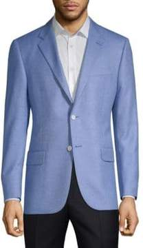 Hickey Freeman Silk Cashmere Sports Jacket