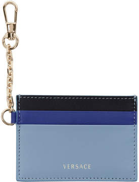 Versace Tricolor Chain Card Holder