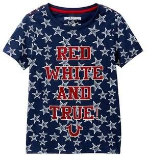 True Religion Red, White, & True Tee (Big Girls)
