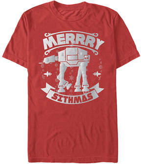 Fifth Sun Star Wars Red 'Merrry Sithmas Tee - Men's Regular