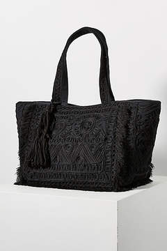 Anthropologie Less is More Tote Bag