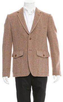 Marc Jacobs Wool Herringbone Sport Coat